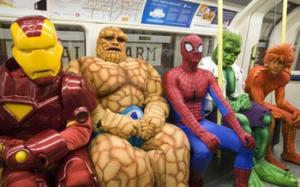 電車でイヤな人が横に座る